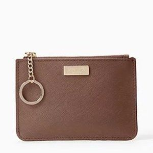 Kate Spade Coin Purse Dusk Saffiano Leather NWT